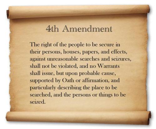 Violation of 4th Amendment $800,000